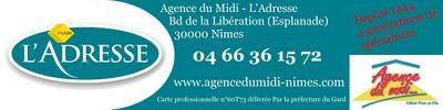 Logo AGENCE DU MIDI - L'ADRESSE