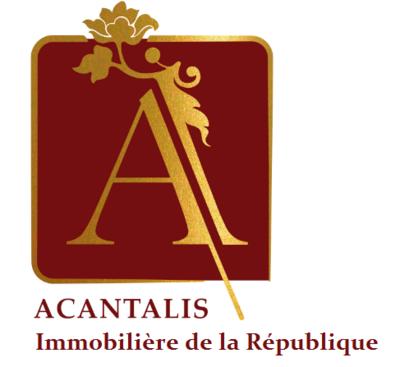 Logo ACANTALIS - IMMOBILIERE DE LA RÉPUBLIQUE