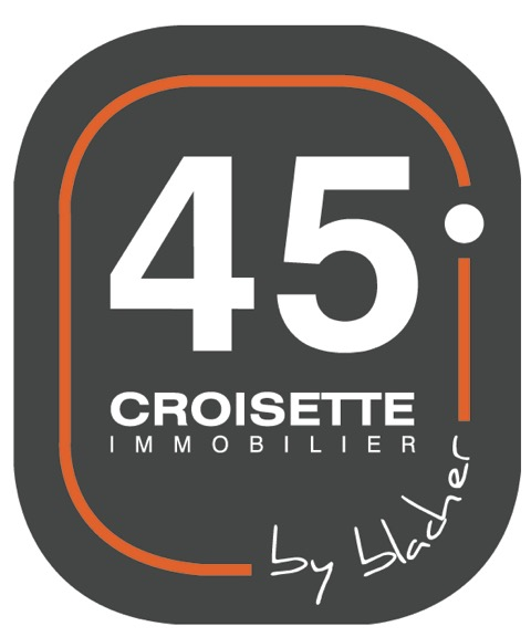 Logo45 CROISETTE Immobilier by blacher