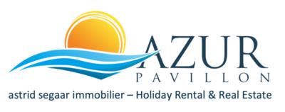 LogoAZUR PAVILLON - astrid segaar immobilier