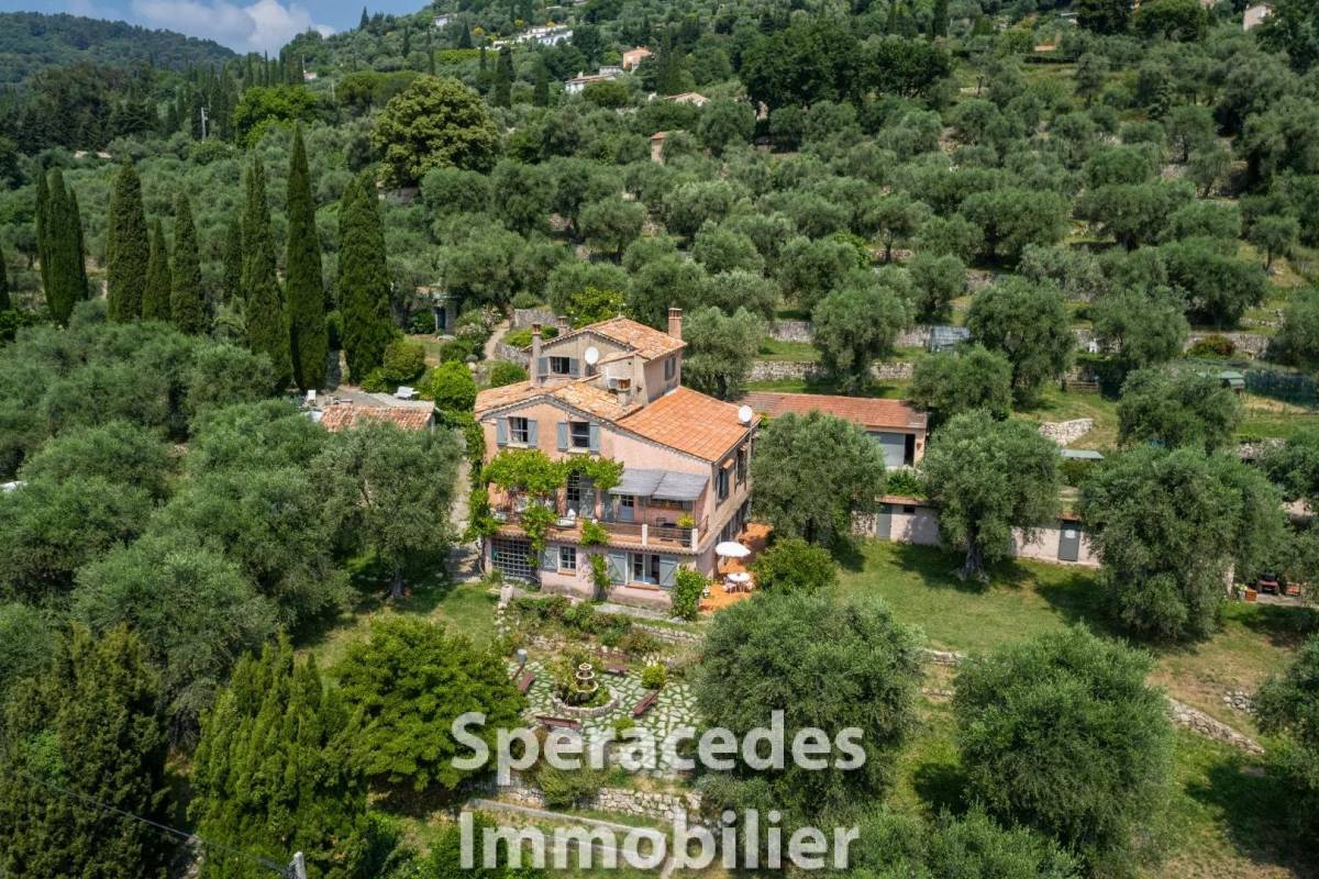 GRASSE - Advertisement house for sale