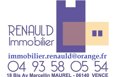 Appartement à vendre à VENCE  - 2 pièces - 34 m²