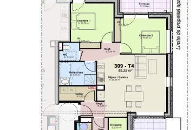Appartement à vendre à immobilier LA ROCHELLE  - 4 pièces - 85 m²