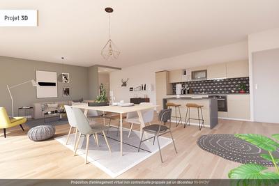 Appartement à vendre à BORDEAUX  - 3 pièces - 87 m²
