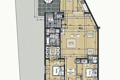 - 3 pièces - 116 m²