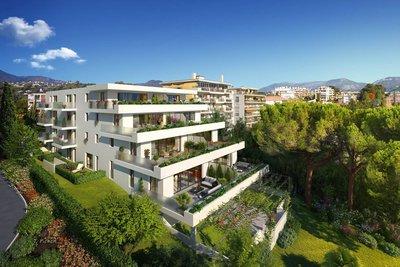 Appartement à vendre à NICE  - 2 pièces - 46 m²