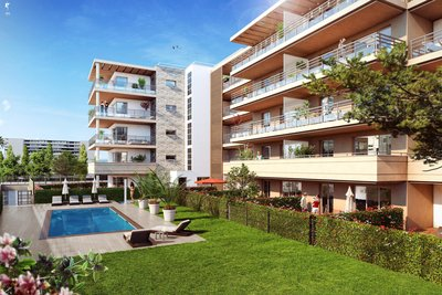 Appartement à vendre à ANTIBES  - 2 pièces - 65 m²