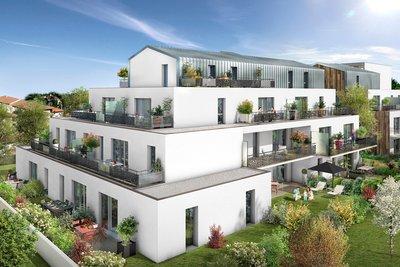 Appartement à vendre à TOULOUSE  - 3 pièces - 68 m²