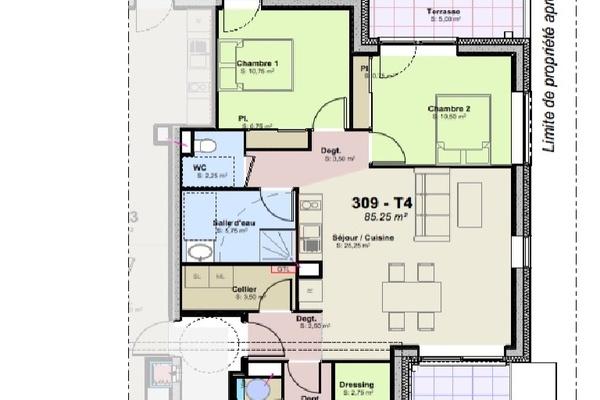 LA ROCHELLE - Annonce Appartement à vendre4 pièces - 85 m²