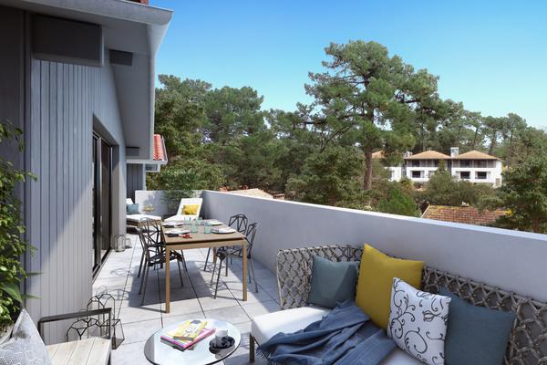 HOSSEGOR - Annonce Appartement à vendre4 pièces - 147 m²