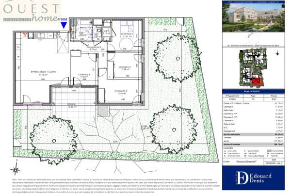 CHARBONNIÈRES-LES-BAINS - Annonce Appartement à vendre5 pièces - 99 m²
