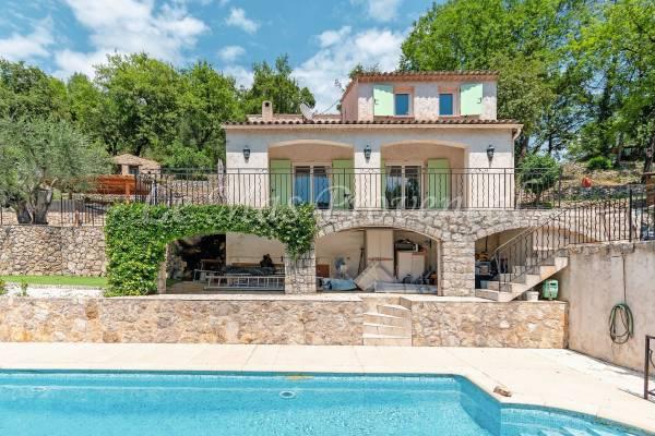 TOURRETTES-SUR-LOUP - Annonce Maison à vendre4 pièces - 135 m²