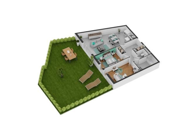 BALARUC-LES-BAINS - Annonce Appartement à vendre3 pièces - 68 m²