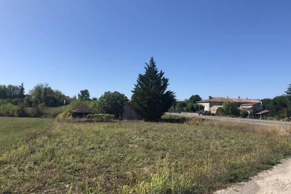 GROSPIERRES - Annonce terrain à vendre700 m²