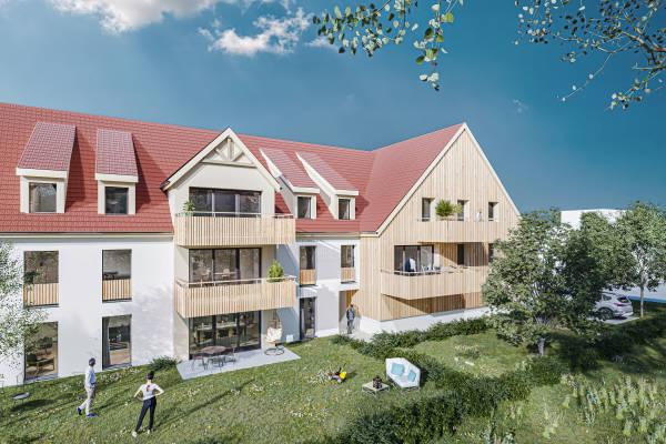 DUTTLENHEIM - Annonce Appartement à vendre2 pièces - 56 m²
