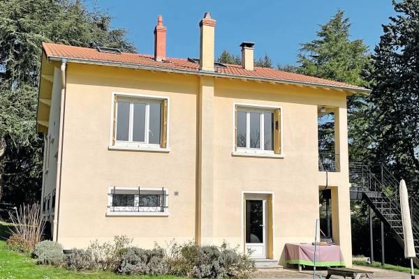 LA TOUR-DE-SALVAGNY - Annonce Maison à vendre7 pièces - 134 m²