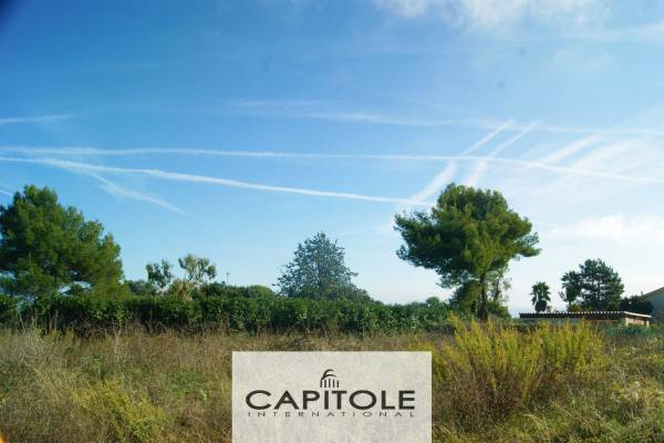 ANTIBES - Advertisement building plot for sale