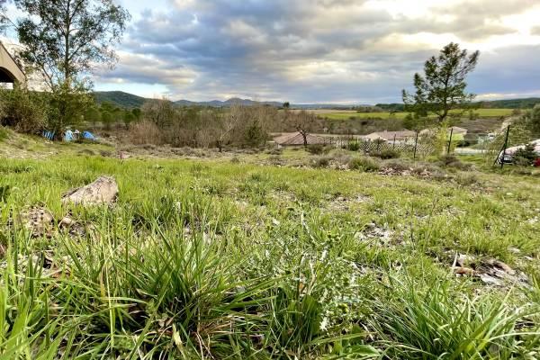 GROSPIERRES - Annonce terrain à vendre900 m²