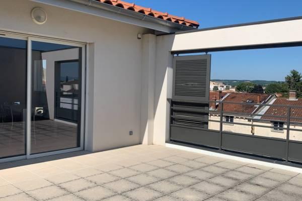 TOURNON-SUR-RHÔNE - Annonce Appartement à vendre4 pièces - 80 m²