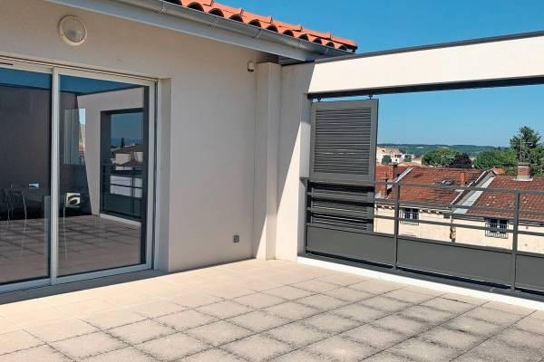 TOURNON-SUR-RHÔNE - Annonce Appartement à vendre80 m²