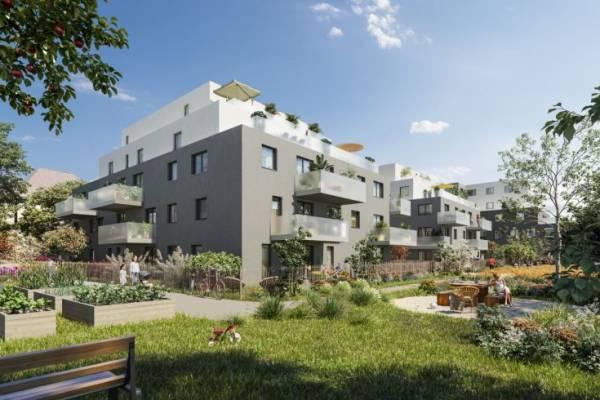 BISCHHEIM - Annonce Appartement à vendre3 pièces - 65 m²