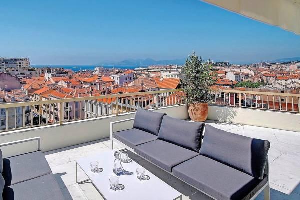 CANNES - Annonce Appartement à vendre5 pièces - 148 m²